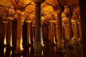 Estambul. Cisterna de la Basílica.