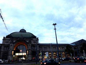 Nuremberg. Estación de tren