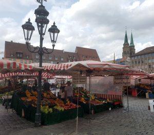 Nuremberg. Hauptmarkt