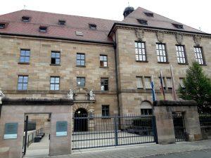 Nuremberg. Memorial Procesos de Nuremberg.