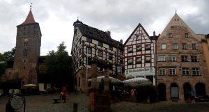Nuremberg. Barrio del Castillo