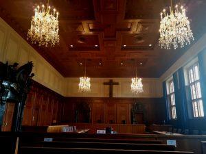 Sala de los Procesos de Nuremberg.