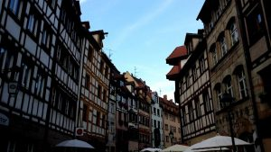 Nuremberg. Weissgepbergasse