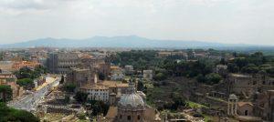 Roma. Desde el Monumento a Víctor Manuel II