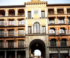 Toledo. Zocodover. Arco de la Sangre