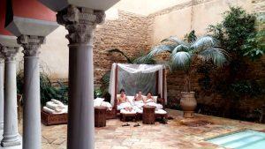 Córdoba. Baños árabes