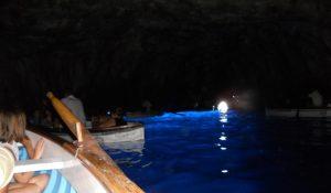 Capri. Gruta Azul