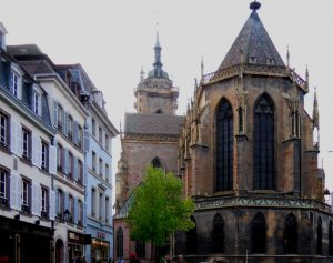 Colmar. Colegiata de San Martin