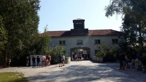 Dachau. Entrada al Campo.