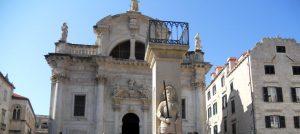 Dubrovnik. Iglesia de San Blas y Orlando