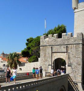 Dubrovnik. Puerta de Placa