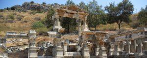 Éfeso. Fuente de Trajano