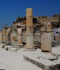 Éfeso. Avenida de las Columnas