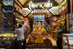 Estambul Bazar Especias.