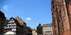 Estrasburgo. Plaza de la Catedral.