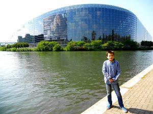 Estrasburgo. Parlamento europeo.