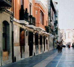 León. Calle Ancha.