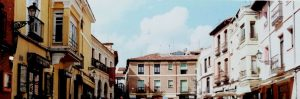 León. Plaza de San Martín.