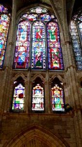 Catedral de León. Vidrieras.