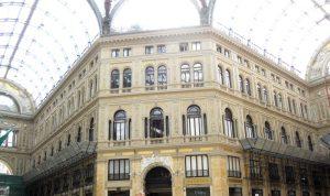 Nápoles. Galerías Umberto I.