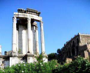 Roma. Templo de Vesta.