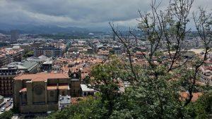 San Sebastián desde el Castillo de la Mota