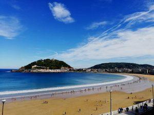 San Sebastián. Playa de La Concha