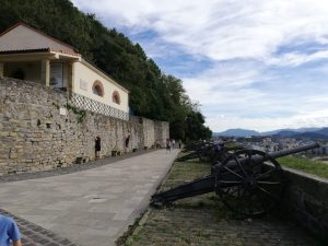 San Sebastián. Monte Urgull. Batería de las Damas