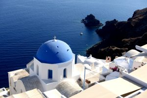 <em>Santorini. Grecia.</em>