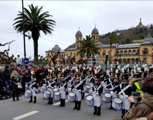 Día de San Sebastián. Tamborrada infantil