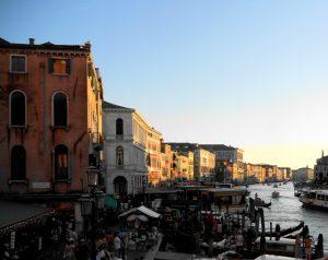Venecia. Gran Canal desde Rialto.