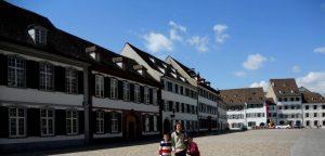 Basilea. Plaza de la Catedral