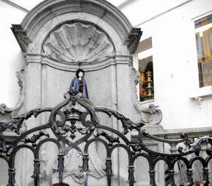 Bruselas. Manneken Pis