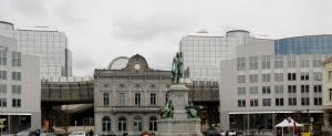 Bruselas. Plaza Luxemburgp.