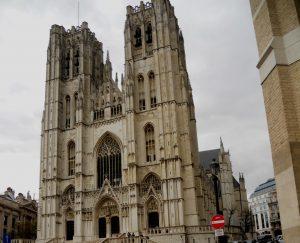 Bruselas. Catedral de San Miguel y Santa Gúdula