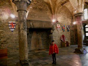 Gante. Interior del Castillo