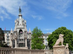 Ginebra. Monumento Brunswick