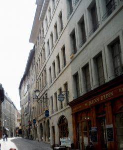 Ginebra. Ciudad Vieja.
