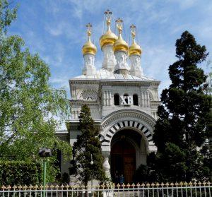 Ginebra. Iglesia ortodoxa rusa