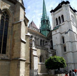 Ginebra. Catedral de St.Pierre