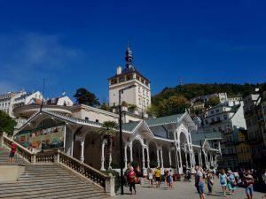Karlovy Vary. Fuente de Carlos IV