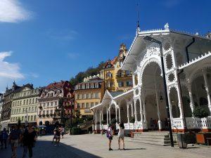 Karlovy Vary. Fuente del Mercado