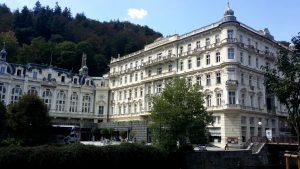 Karlovy Vary. Hotel Pumpp.
