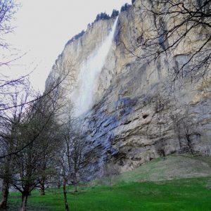 Lauterbrunnen. Staubbachfall.
