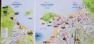 Plano de San Sebastián