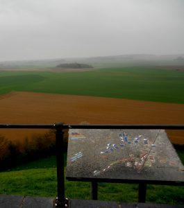 Waterloo. Vistas sobre el campo de batalla.