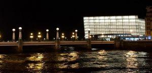 San Sebastián. Puente del Kursaal y Palacio de Congresos
