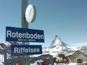 Zermatt-Matterhorn. Rotenboden
