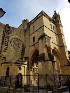 San Sebastián. Iglesia de San Vicente