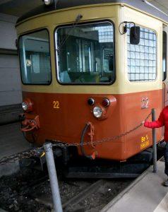 Estación de Grutschalp- Tren a Mürren